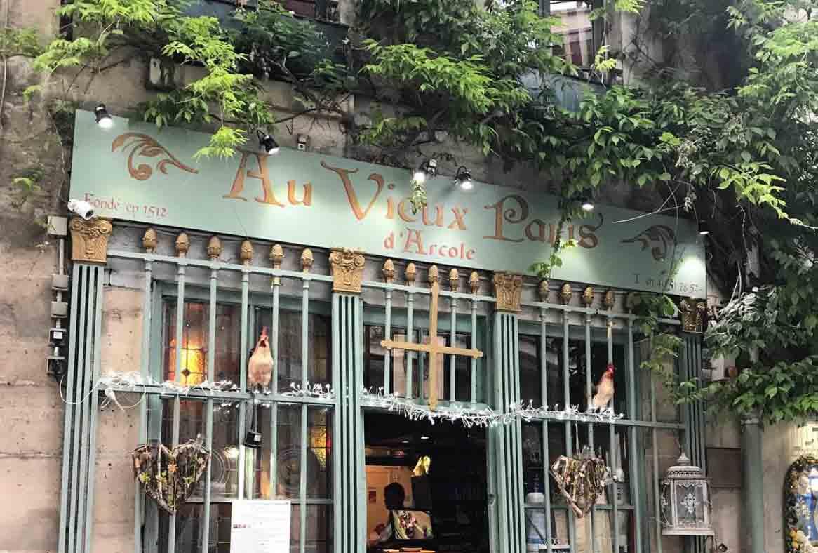 Restaurant au vieux paris