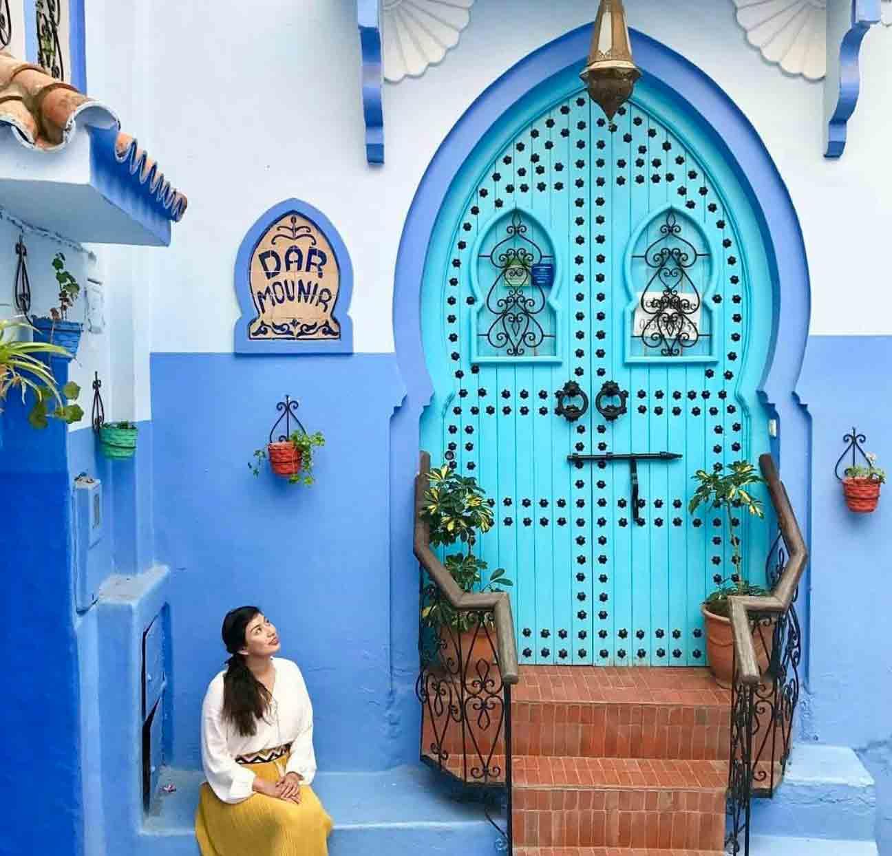 Den blå døren i Marrocco