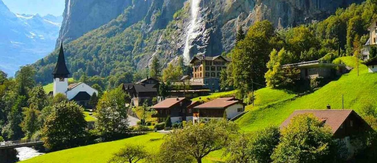 Lauterbrunnen i Sveits