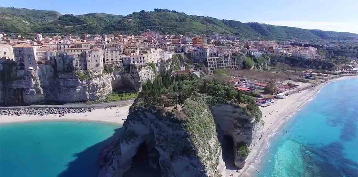 Calabria ved den ioniske kyst i Italia