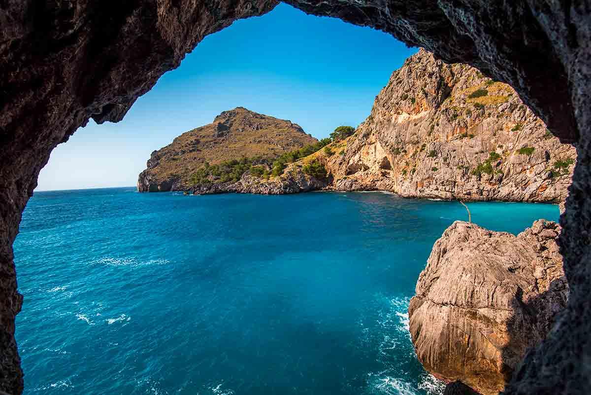 Grotte ved Palma De Mallorca