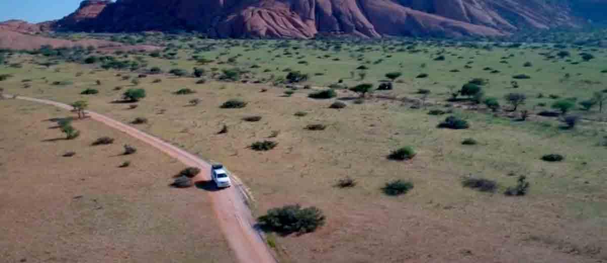 Roadtrip gjennom Namibia