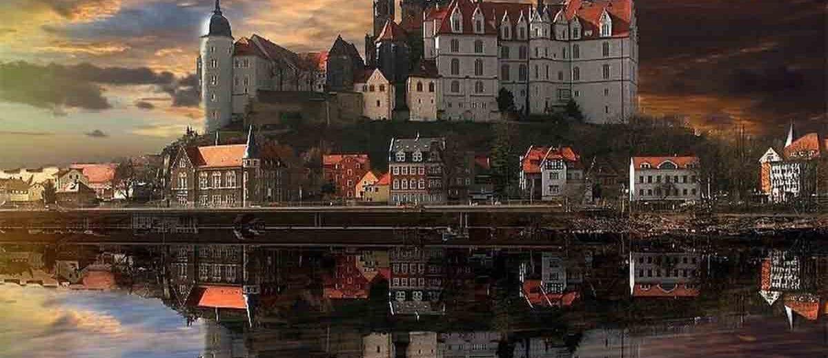 Albrechtsburg slott-Dresden