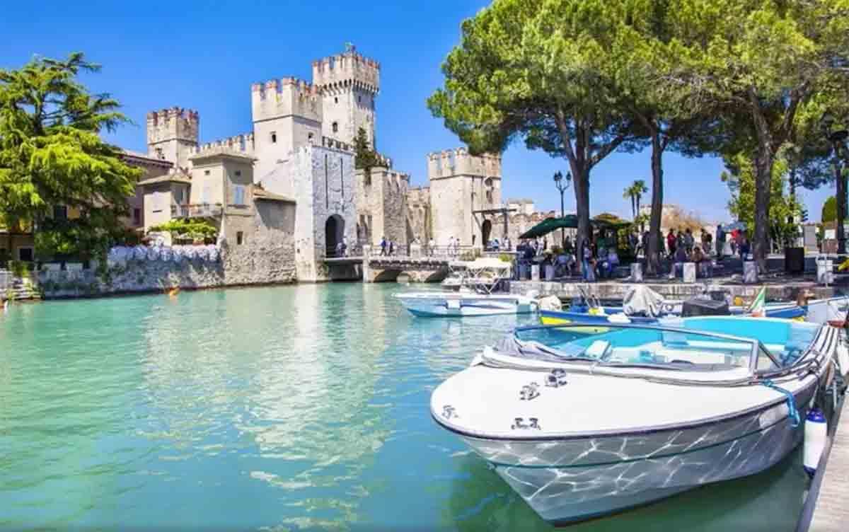 Comosjøen i Italia