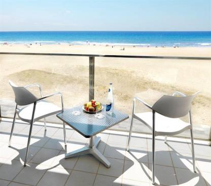 Bel Air Hotel - 4-stjerners hotell ved stranden i Barcelona.
