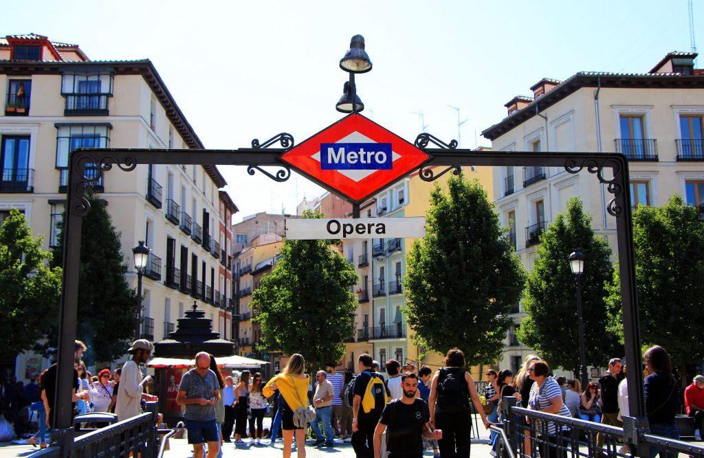 Her skal du bo i Madrid