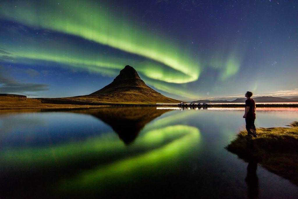 Vik - Her bor du for å se nordlyset på Island. Populære hoteller på Island.
