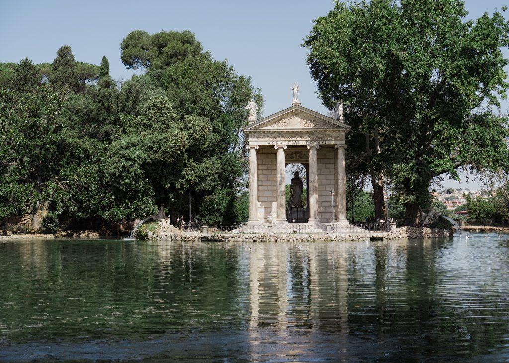 Villa Borghese - En av de beste stedene å bo i Roma