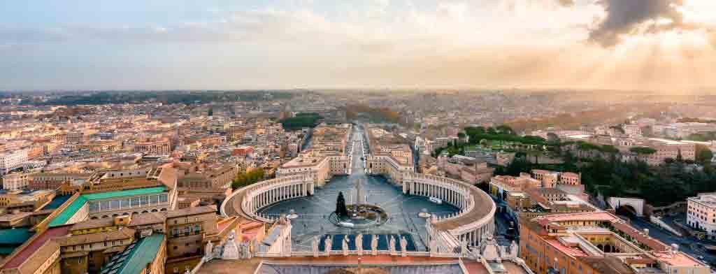 Her bor du i nærheten av Vatikanet i Roma