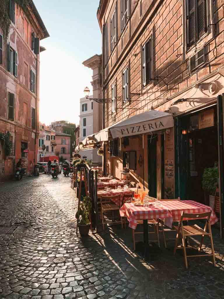 Her er de beste stedene å bo i Trastevere-området