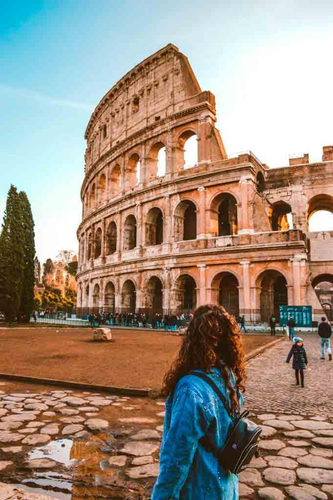 Her er hotellene i nærheten av Colosseum, Roma