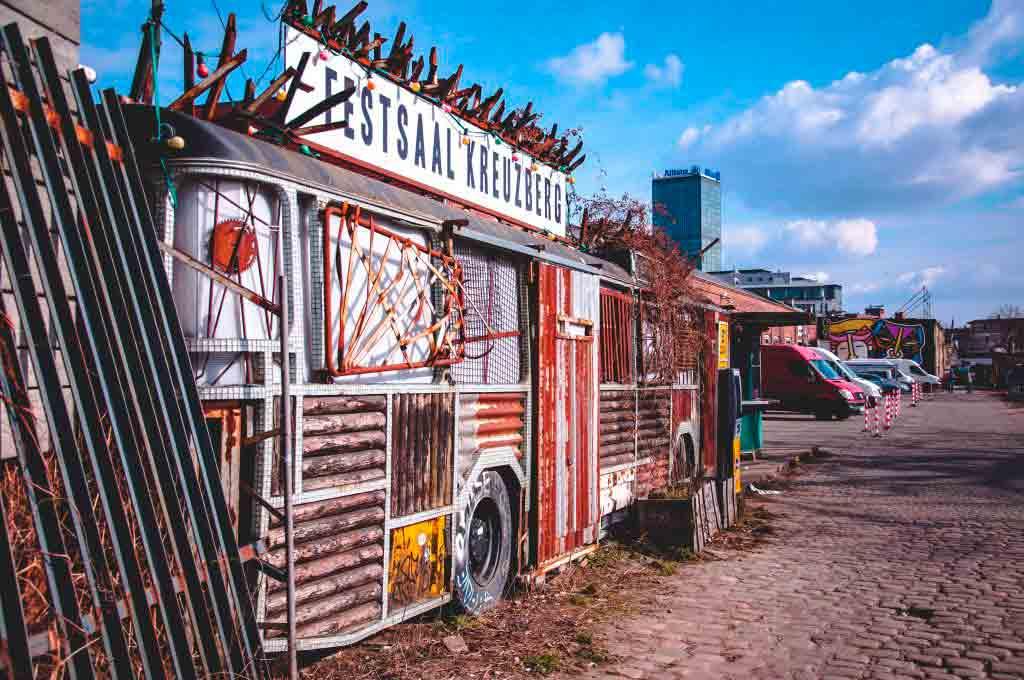 Øst-Kreuzberg - Midt i det beste utelivet i Berlin