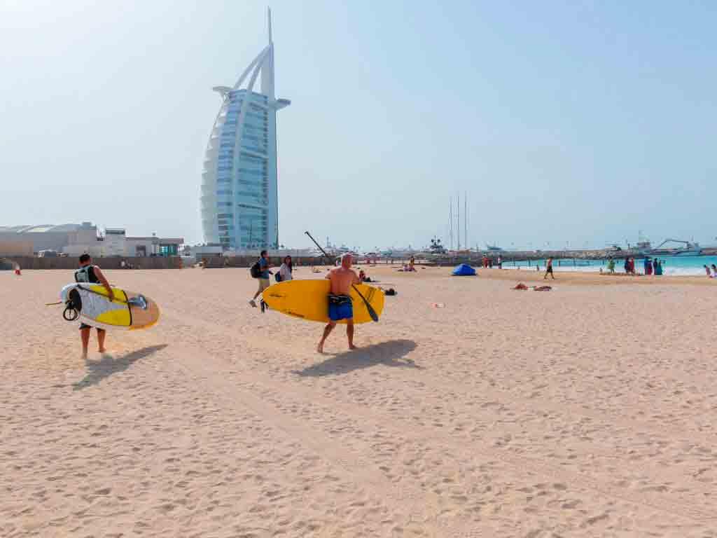 Jumeirah Beach - Dette er det beste området å bo i Dubai og med barn