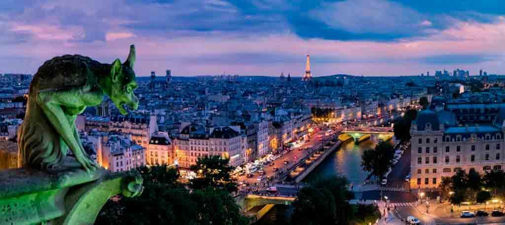 Her bor du i nærheten av Notre Dame