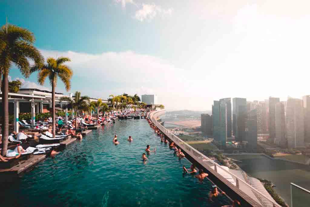 Marina Bay - Kanskje det beste området å bo med familien i Singapore
