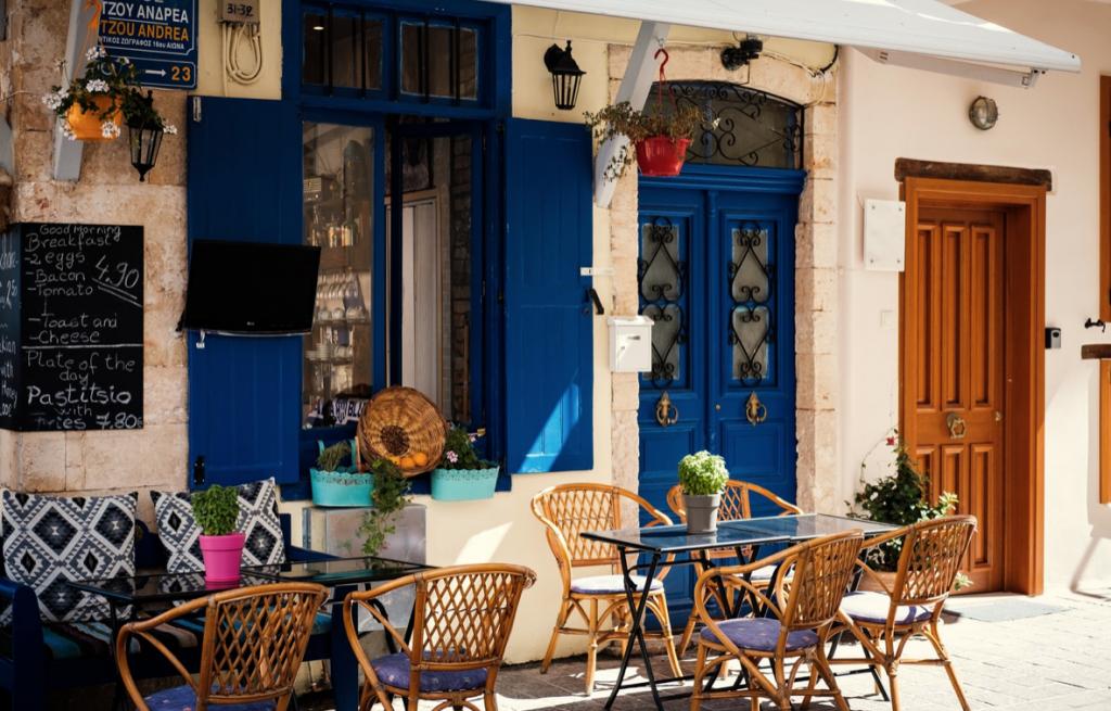 Chania - Her bor de fleste turistene på Kreta