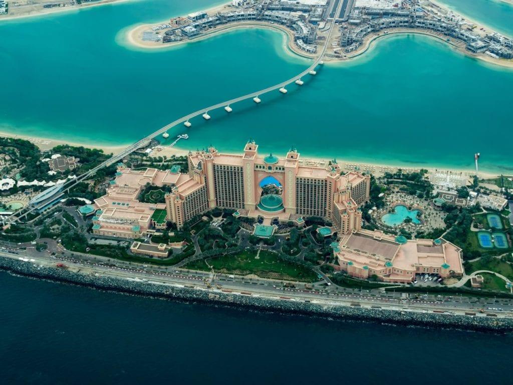 De Billigste Hotellene ved Palmen, Dubai