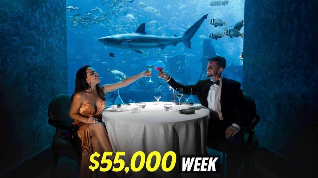 Vi bodde som noen milliardærer i luksus byen Dubai i én uke!