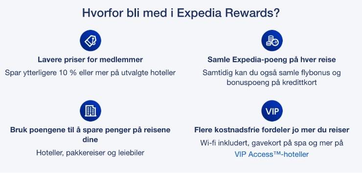 Eksempel: Expedia Rewards