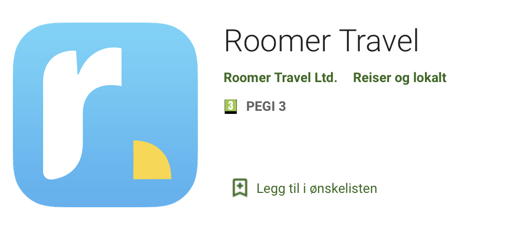 Roomer Travel App