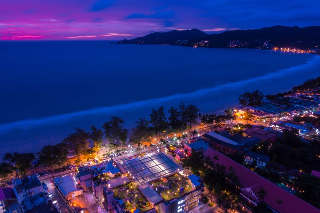Patong Beach i Phuket
