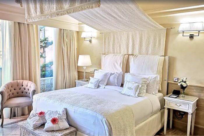 Eksempel på et romantisk hotell i Roma