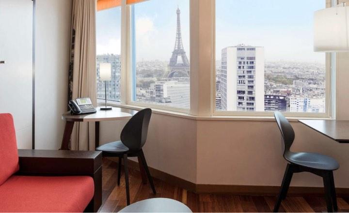 Hotell Adagio Paris Tour Eiffel