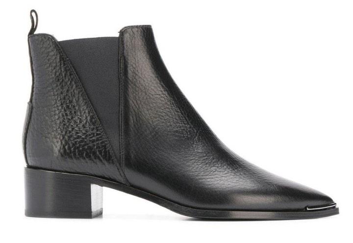 Pavement Karen støvletter svart skinn sko Floyd.no