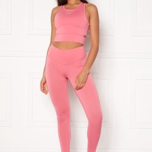 Drop of Mindfulness BOW II Leggings Pink Coral L