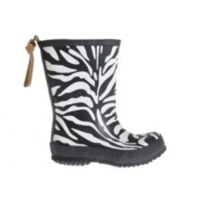 Flerfarget Bisgaard gummistøvel Zebra