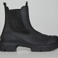 Ganni - Boots Recycled Rubber City
