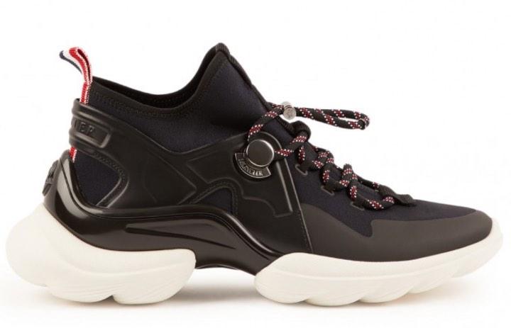 Gray sneakers  Moncler  Sneakers - Sko Til Dame