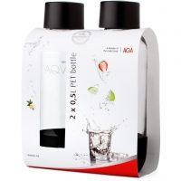 Aqvia Aga PET-Flaske 0,5 l Duopack Svart