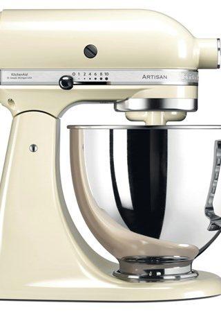 Artisan 125 Kjøkkenmaskin 4,8 liter Creme