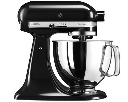 Artisan 125 Kjøkkenmaskin 4,8 liter Svart