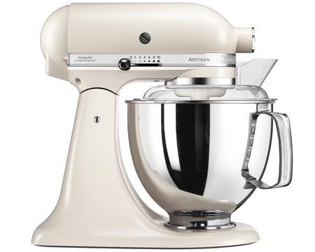 Artisan 175 Kjøkkenmaskin 4,8 liter Perlehvit