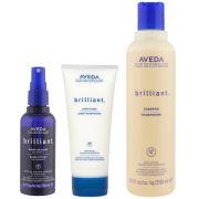 Aveda Brilliant Trio- Shampoo, Conditioner & Spray On Shine