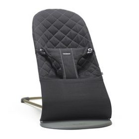 Babybjörn Bliss Bouncer Black Cotton One Size