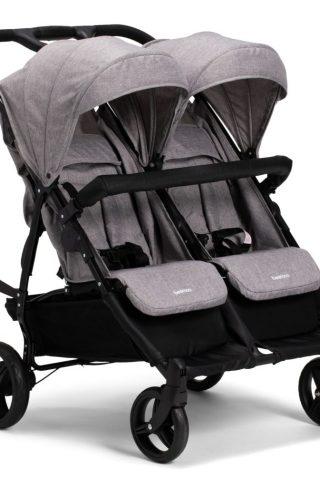 Beemoo Twin Shopper Travel Lux, Grey Melange