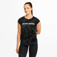 Better Bodies Astoria Tee - T-skjorte - Black camo