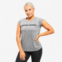 Better Bodies Astoria Tee - T-skjorte - Greymelange