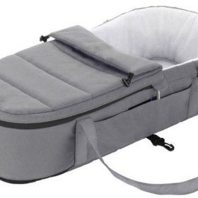 Britax GO BIG Soft Carrycot, Steel Grey