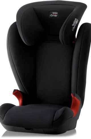 Britax Kid II Beltestol Black Series, Cosmos Black