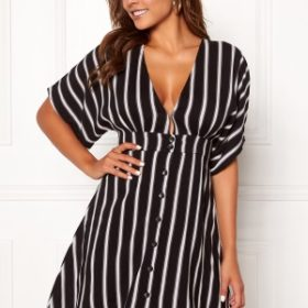 Chiara Forthi Cerullo buttoned dress Black / White / Patterned 34