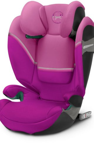 Cybex Solution S i-Fix Beltestol, Magnolia Pink