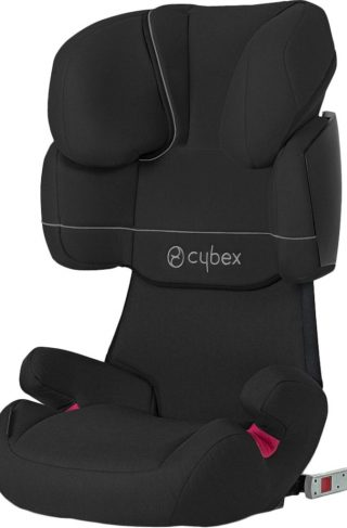 Cybex Solution X-Fix Beltestol, Pure Black