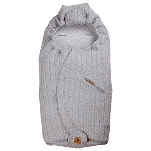 Easygrow LITE + Footmuff Grey Melange One Size