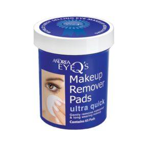 Eye-Q´s Remover Ultra quick pads Ultra quick 65 pcs