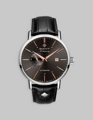 Gant Klokke Park Hill Automatic Black/Grey Svart