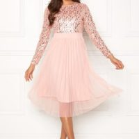 Happy Holly Mandy dress Dusty pink 48/50